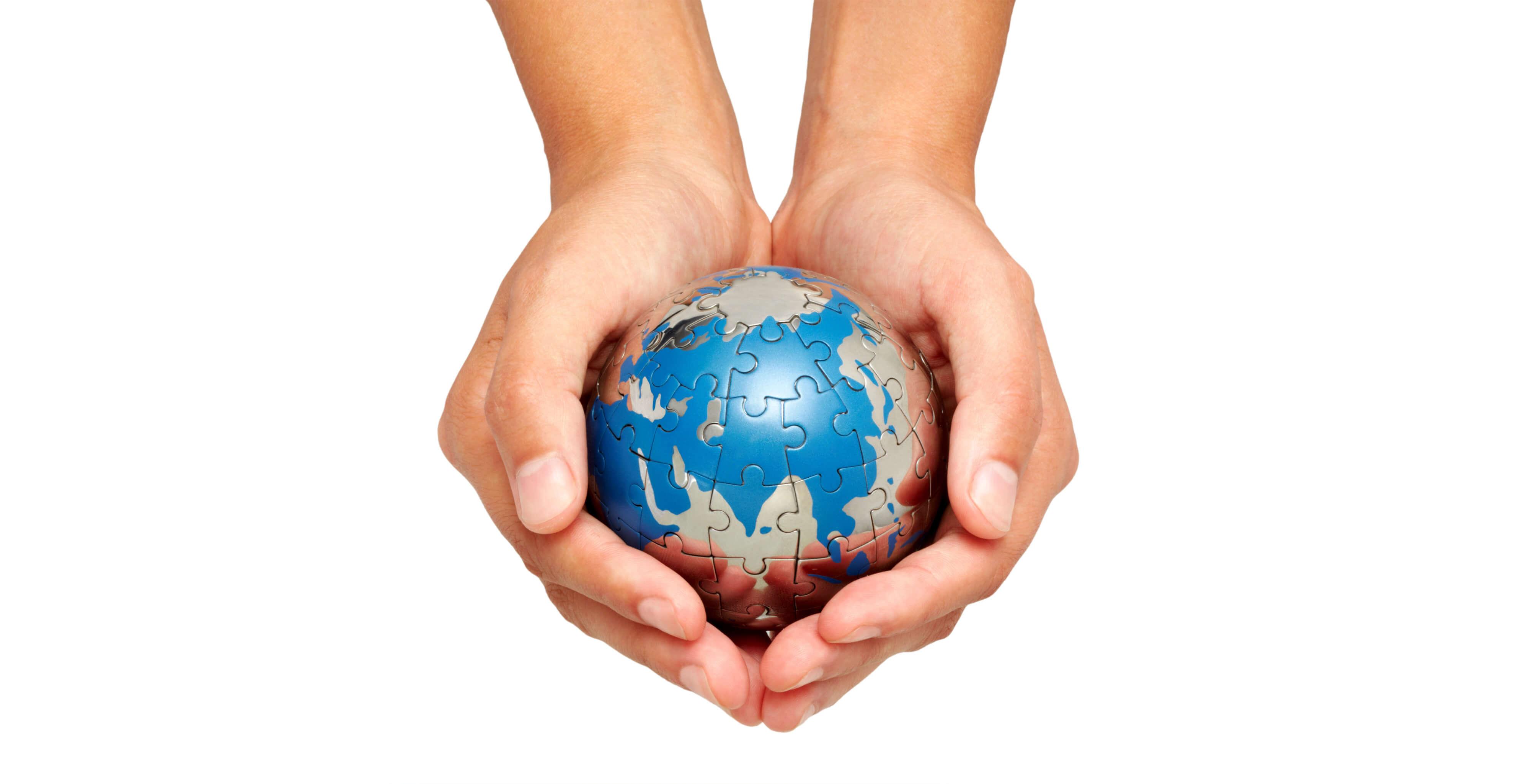картинка шар земной в руках на прозрачном фоне даже знаю